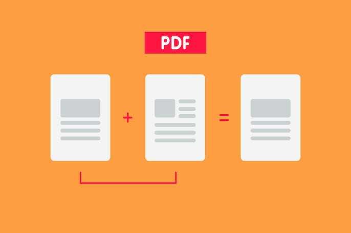 How to merge PDF