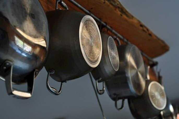 Clean Cast Iron Pots